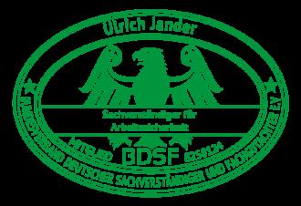 Kontakt Ulrich Jander, Sachverständiger für Gastro-Hygiene